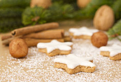 Traditional German Christmas cookies Stock Photography