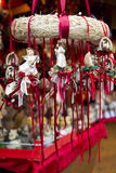 Traditional German Christmas Decorations Royalty Free Stock Images