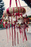Traditional German Christmas Decorations Stock Image