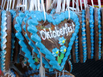 Free Traditional German Gingerbreads From Oktoberfest Stock Photo - 6480300