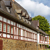 Traditional german helf-timbered house in Koblenz Stock Photography