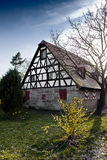Traditional german house. Old german style architecture near nuremberg, germany Royalty Free Stock Image