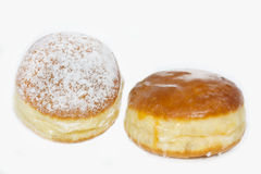 Traditional German Krapfen pastry stock photography