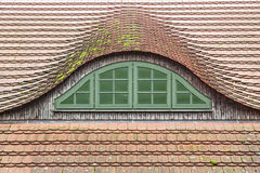 Traditional german roof window Royalty Free Stock Images