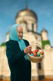 Traditional gift at Easter ... Stock Photo