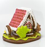 The traditional gingerbread house Stock Images