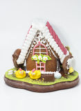 The traditional gingerbread house Stock Photos