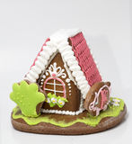 The traditional gingerbread house Royalty Free Stock Photos