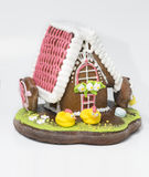 The traditional gingerbread house Royalty Free Stock Photography
