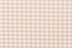 Traditional gingham pattern in light red color. Hi res photo Stock Image