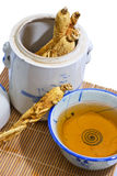 Traditional Ginseng Soup 02 Royalty Free Stock Images