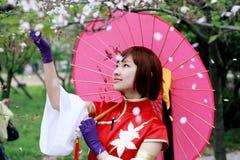 Traditional girl stock photography