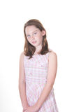 Traditional girl in dress Royalty Free Stock Image