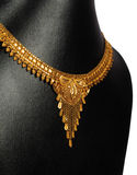 Traditional Gold Necklace Royalty Free Stock Image