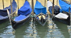Traditional gondolas Royalty Free Stock Image