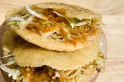 Traditional gorditas Royalty Free Stock Photo