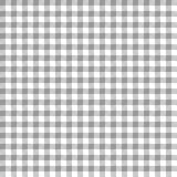 Gray Gingham Seamless Pattern. Traditional gray and white gingham seamless pattern royalty free illustration