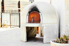 Traditional Greece and Cyprus kleftiko oven pit oven. Mediterranean cuisine stock photography
