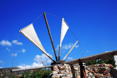 Traditional Greece Windmill, Crete Royalty Free Stock Photos