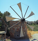 Traditional Greece Windmill, Crete Stock Images