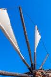 Traditional Greece Windmill, Crete Royalty Free Stock Photos