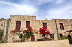 Traditional Greek architecture Royalty Free Stock Photo
