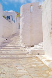 Traditional greek architecture on Cyclades islands Stock Image