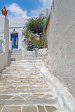Traditional greek architecture on Cyclades islands Royalty Free Stock Image