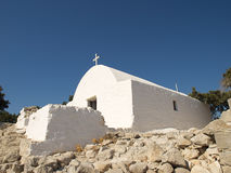 Traditional Greek chapel. Stock Images