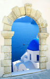 Traditional greek church Stock Image