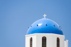 Traditional Greek church Royalty Free Stock Images