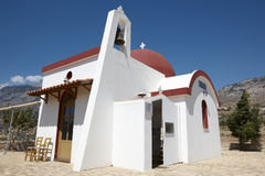 Traditional greek church in Amari valley. Crete. Greece Stock Photography