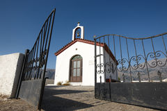 Traditional greek church in Amari valley. Crete. Greece Royalty Free Stock Photo