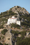 Traditional greek church in the mountain. Crete. Greece Royalty Free Stock Photos