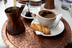Free Traditional Greek Coffee Royalty Free Stock Photos - 21129888
