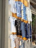 Traditional Greek Costumes, Plaka, Athens, Greece Stock Image