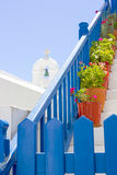Traditional Greek exterior Royalty Free Stock Images