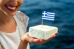 Traditional greek feta Royalty Free Stock Images