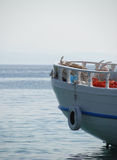 Traditional Greek fishing boat Royalty Free Stock Images