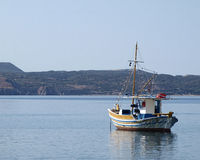 Traditional Greek fishing boat kaiki Royalty Free Stock Images
