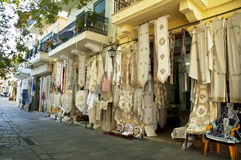 Traditional Greek handicraft Royalty Free Stock Photography