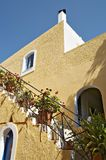 Traditional greek house. In Arolithos Crete Stock Image