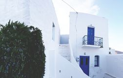 Traditional Greek house in Serifos Royalty Free Stock Images