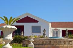 Traditional greek house at Kefalonia Stock Image