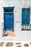 Traditional greek house on Mykonos island, Greece Stock Images
