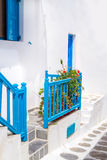Traditional greek house on Mykonos island Stock Photography