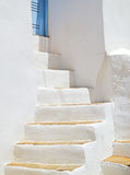 Traditional greek house on Mykonos island Royalty Free Stock Images