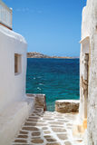 Traditional greek house on Mykonos island. Greece Stock Images