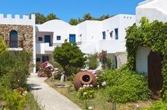 Traditional greek house at Samothraki island Stock Photography