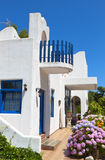 Traditional greek house at Samothraki island Stock Images